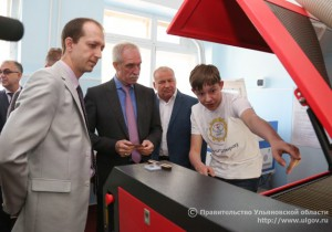 Врио Губернатора Ульяновской области Сергей Морозов открыл в Димитровграде новый ЦМИТ