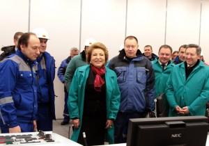 Валентина Матвиенко: «НЛМК – один из лидеров инноваций»