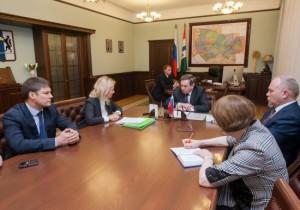 Владимир Городецкий провёл встречу с руководством Агентства стратегических инициатив