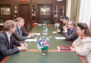 В Правительстве Новосибирской области обсудили вопросы сотрудничества с Финляндией