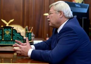 Томский губернатор обсудил с главой Росрыболовства природный и научный потенциал региона