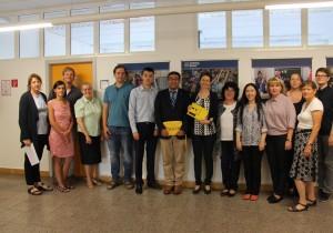 В Германии резидент Тюменского технопарка презентовал уникальный электронный учебник для незрячих детей