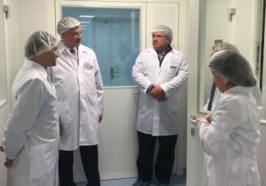 Меценат-фармаколог Фредерик Паулсен осмотрел фарм. завод «Нанофарма Девелопмент»