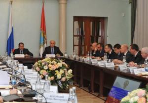 Михаил Бабич и Николай Меркушкин обсудили меры господдержки малого и среднего бизнеса