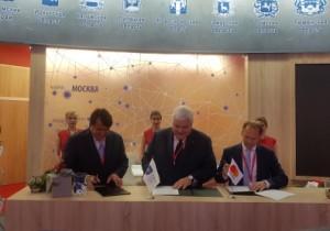 ПМЭФ`2018: Mastercard, Банк Русский Стандарт и METRO Cash&Carry подписали Соглашение о сотрудничестве на стенде АИРР