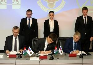 ФАНО России, Правительство Новосибирской области и Сибирское отделение РАН подписали соглашение о сотрудничестве