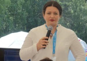 Наталья Рязанцева представила «бирюсинцам» возможности региона в решении глобальных проблем