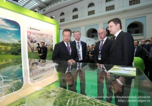 Председатель правления УК «РОСНАНО» Анатолий Чубайс: «Строительство ветростанций по всей России начнется с ветропарка в Ульяновской области»