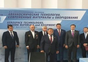 Рустам Минниханов открыл Международную выставку «АКТО-2016» в Казани