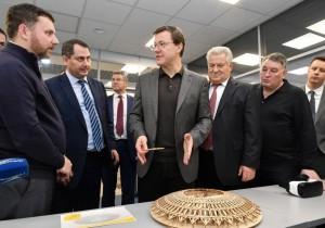 Дмитрий Азаров ознакомился с работой инновационного центра СамГМУ