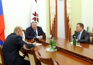Владимир Волков: «В Саранске появится научно-производственный центр по разработке новых видов антибиотиков»