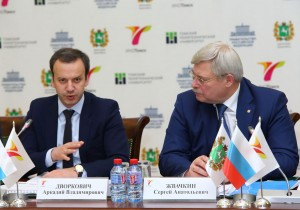 Аркадий Дворкович и Сергей Жвачкин, при участии АИРР, обсудили ход реализации федерального проекта «ИНО Томск»