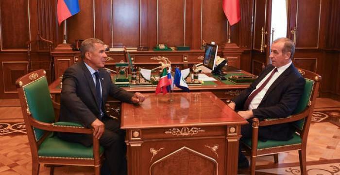Рустам Минниханов: Иркутская область является большим рынком для машиностроительной и авиастроительной продукции Татарстана
