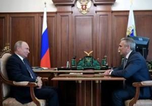 Президент назначил Александра Моора врио губернатора Тюменской области