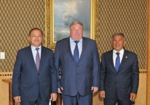 Рустам Минниханов встретился с главой Мордовии Владимиром Волковым