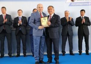 Рустам Минниханов открыл Татарстанский нефтегазохимический форум
