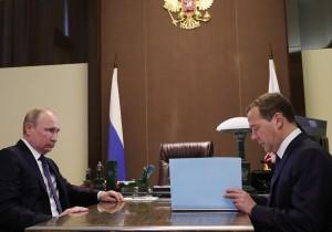 Путин подписал указы о назначениях нового состава правительства