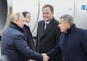Президента РФ Владимира Путина ознакомили с развитием проекта Иннополис