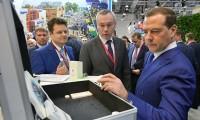 Медведев ознакомился с экспозицией ряда регионов на сочинском форуме