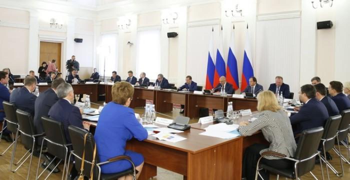 Владимир Волков принял участие в совещании Дмитрия Медведева по вопросам регионального развития