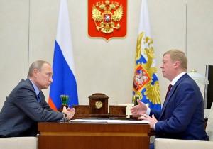 Анатолий Чубайс рассказал Владимиру Путину об итогах работы РОСНАНО